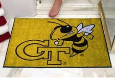 "Georgia Tech Yellow Jackets 34""x45"" All-Star Floor Mat"