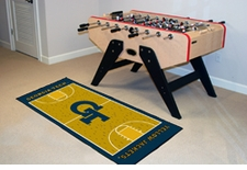 "Georgia Tech Yellow Jackets Basketball Runner 30""x72"" Floor Mat"