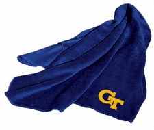 Georgia Tech Yellow Jackets Fleece Throw