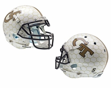 Georgia Tech Yellow Jackets Honeycomb Schutt XP Authentic Helmet