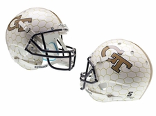 Georgia Tech Yellow Jackets Honeycomb Schutt XP Full Size Replica Helmet