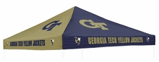 Georgia Tech Yellow Jackets Navy / Gold Logo Tailgate Tent Replacement Canopy