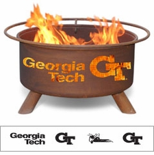Georgia Tech Yellow Jackets Outdoor Fire Pit