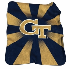 Georgia Tech Yellow Jackets Raschel Throw