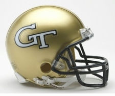 Georgia Tech Yellow Jackets Riddell Replica Mini Helmet