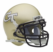 Georgia Tech Yellow Jackets Schutt Authentic Mini Helmet