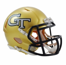 Georgia Tech Yellowjackets Riddell Speed Mini Helmet