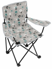Gray Blossom Youth Chair