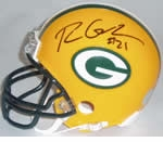 Green Bay Packers Autographed Football Gear
