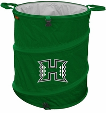 Hawaii Warriors Tailgate Trash Can / Cooler / Laundry Hamper