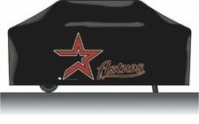Houston Astros Deluxe Barbeque Grill Cover