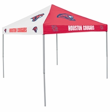 Houston Cougars Red / White Logo Canopy Tailgate Tent