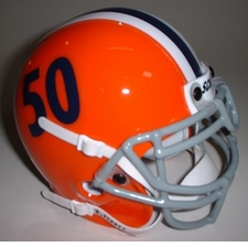 Illinois Fighting Illini 1964 Schutt Throwback Mini Helmet