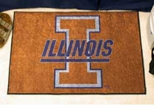 "Illinois Fighting Illini 20""x30"" Starter Floor Mat"