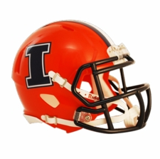 Illinois Fighting Illini 2013 Riddell Speed Mini Helmet