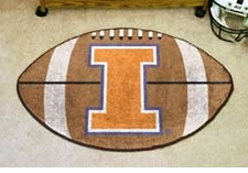"Illinois Fighting Illini 22""x35"" Football Floor Mat"