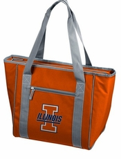 Illinois Fighting Illini 30 Can Cooler Tote