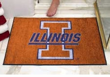 "Illinois Fighting Illini 34""x45"" All-Star Floor Mat"