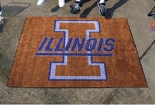 Illinois Fighting Illini 5'x6' Tailgater Floor Mat