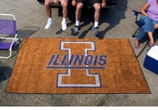 Illinois Fighting Illini 5'x8' Ulti-mat Floor Mat