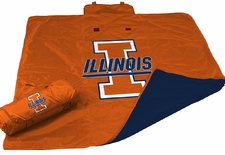 Illinois Fighting Illini All Weather Blanket