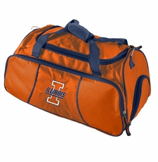 Illinois Fighting Illini Athletic Duffel Bag