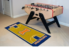 "Illinois Fighting Illini Basketball Runner 30""x72"" Floor Mat"