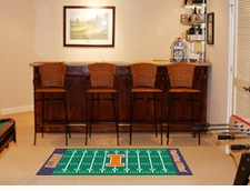 "Illinois Fighting Illini Football Runner 30""x72"" Floor Mat"