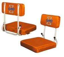 Illinois Fighting Illini Hard Back Stadium Seat