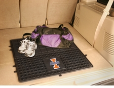 Illinois Fighting Illini Heavy Duty Vinyl Cargo Mat