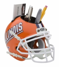 Illinois Fighting Illini Helmet Desk Caddy