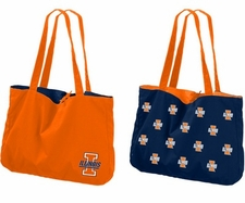 Illinois Fighting Illini Reversible Tote Bag