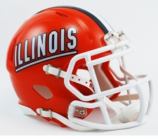 Illinois Fighting Illini Riddell Speed Mini Helmet