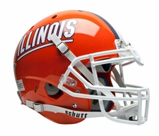 Illinois Fighting Illini Schutt XP Full Size Replica Helmet