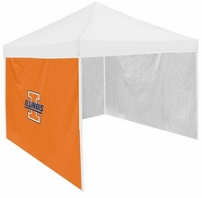 Illinois Fighting Illini Side Panel for Logo Tents