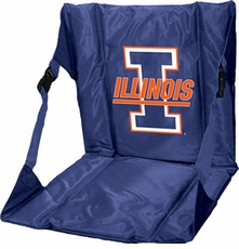 Illinois Fighting Illini Stadium Seat (Navy)