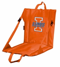 Illinois Fighting Illini Stadium Seat (Orange)