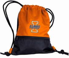 Illinois Fighting Illini String Pack / Backpack