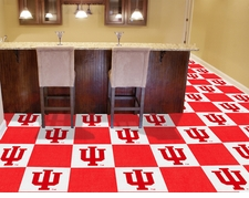 Indiana Hoosiers Carpet Tiles - 20 18x18 Square Tiles