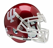 Indiana Hoosiers Red Schutt XP Authentic Helmet