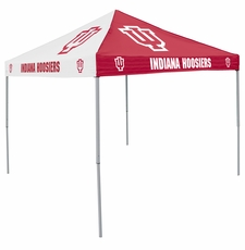 Indiana Hoosiers Red / White Logo Canopy Tailgate Tent