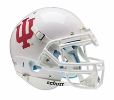 Indiana Hoosiers White Schutt XP Authentic Helmet