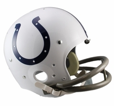 Indianapolis Colts Classic TK 1959-77 Throwback Riddell Replica Helmet