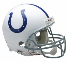 Indianapolis Colts Riddell Full Size Authentic Helmet