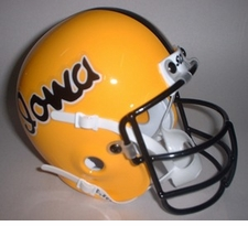 Iowa Hawkeyes 1978 Schutt Throwback Mini Helmet