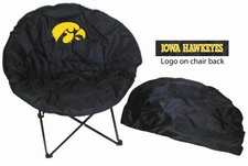 Iowa Hawkeyes Round Sphere Chair