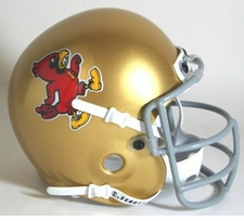 Iowa State Cyclones 1967 Schutt Throwback Mini Helmet