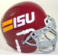 Iowa State Cyclones 1981-82 Schutt Throwback Mini Helmet