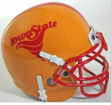 Iowa State Cyclones 1983-86 Schutt Throwback Mini Helmet