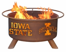 Iowa State Cyclones Outdoor Fire Pit